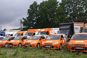 flota pojazdów Cels