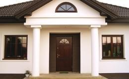 drzwi zewnętrzne, ciepłe, antywłamaniowe