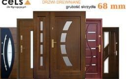 drewniane drzwi Dziadek