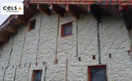 ciepły dom szkieletowy, dom drewniany, pianka natryskowa, ocieplenie,