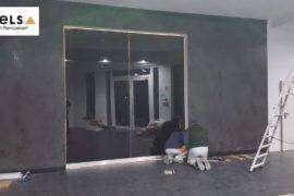 drzwi chowane w ścianę