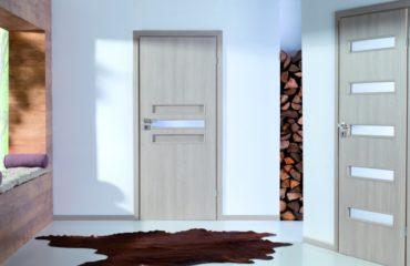 Drzwi wewnętrzne płytowe