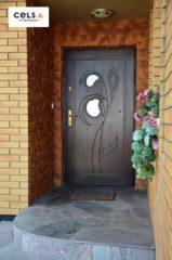 drzwi zewnętrzne, stalowe,