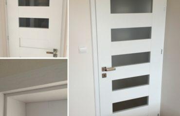 nowość, drzwi pokojowe, białe