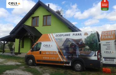 Izolacja pianą – Trzebcz Szlachecki – 134 m2