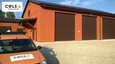 brama garażowa, przemysłowa, segmentowa,