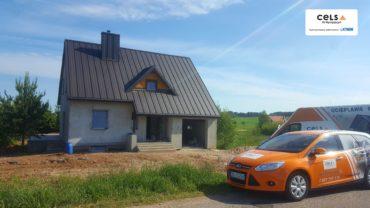 Nowa Wieś – Suwałki – ocieplenie poddasza pianą PUR