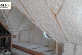 dom drewniany, szkieletowy, cels ocieplenie,