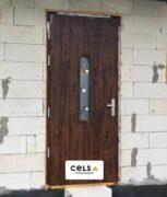 drzwi zewnętrze, ciepłe, stalowe, drzwniane, drzwi Suwałki, montaż,