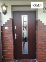 drzwi wejściowe, dom, cels, drzwi,