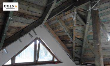 cieple poddasze, ocieplenie dachu,