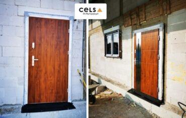 drzwi zewnętrze, ciepłe, stalowe, drzwniane, Suwałki, montaż,