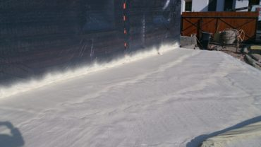 ocieplanie tarasów pianką poliuretanową
