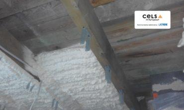 ocieplanie pianką natryskową dach