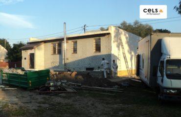 Suwałki – ocieplenie pianką dachu – 180 m2