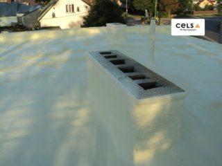 anie dachu płaskiego piankąna twardą zamknięto-komórkową