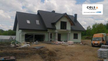 Ocieplenie poddasza pianką – Leszczewek pod Suwałkami – 270 m2
