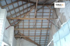 Półkoty – ocieplenie obory 350 m2