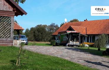 Ocieplenie poddasza w miejscowości Rogojny – 152 m2