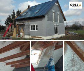 dom pasywny, budowa domu pasywnego, ocieplenie domu pasywnego,