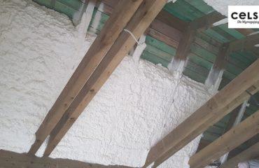 Ocieplenie poddasza - miejscowość Wejsuny