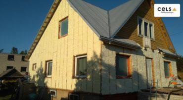 ocieplanie elewacji, ocieplenie domu z zewnątrz, docieplenie z zewnątrz, pianka na elewacje, ocieplenie domu , elewacja, wykończenie, ciepły dom, nowoczesna elewacja,