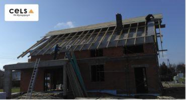 ocieplenie stropu betonowego, ocieplenie stropu, docieplenie dachu, ocieplenie pianą, piana pur,