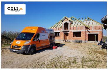 dach betonowy, strop betonowy, ocieplenie,
