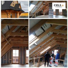 ocieplenie domu drewnianego, dom drewniany,