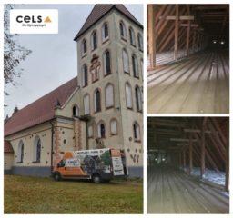 Ocieplenie stropu  kościół Pw. Św. Antoniego Padewskiego