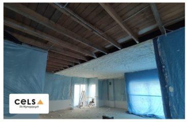 ocieplenie, dach, strop, płaski, izolacja, pianka, pur,