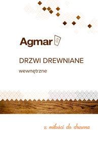 Katalog drzwi wewnętrznych Agmar drewnianych.