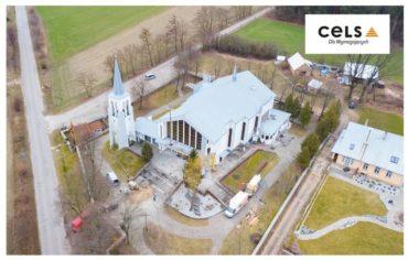 Ocieplenie kościoła w Pogorzałkach