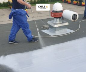 membrana, hydroizolacja, whitechem, dach płaski, bitomiczna, uszczelnienie dachu, naprawa papy, dach płaski,