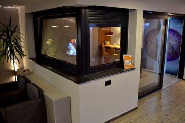 ekspozycja cels, Salon Cels, wystawa, okna pcv,