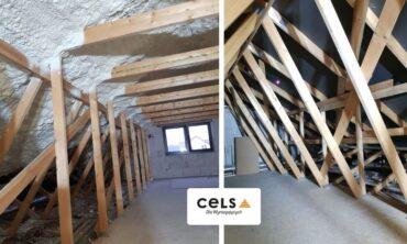 ocieplenie dachu wiązarowego, dach, wiązarowy,ocieplenie poddasza, ocieplenie dachu, izolacja piana, docieplanie, izolator cieplny,
