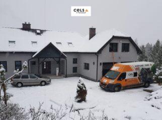 Ocieplenie dachu w okresie zimowym - woj. podlaskie
