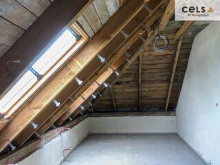 ocieplanie poddasza, docieplenie dachu, izolacja, ciepły dom, pianka pur, Zamość,