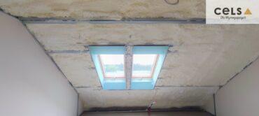 ocieplenie ścian, ocieplenie dachu, szkieletówka, pianka, soudal, cels,